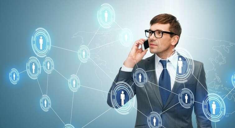 Virtuel ledelse Colourbox
